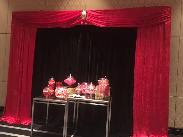 Candy Station Backdrop - Prop For Hire