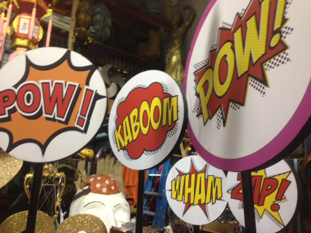Cartoon Signs 2 - Prop For Hire