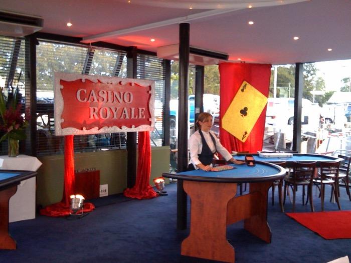 Casino Scene - Prop For Hire