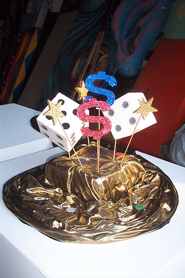 Casino Table Centres - Prop For Hire