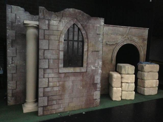 Castle Walls 1 - Prop For Hire