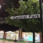 Central Park Sign - Prop For Hire