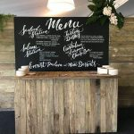 Chalkboard Menu - Prop For Hire