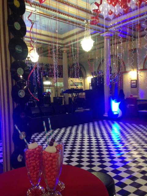 Checkered Dance Floor 1 - Prop For Hire