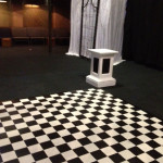 Checkered Floor - Prop For Hire
