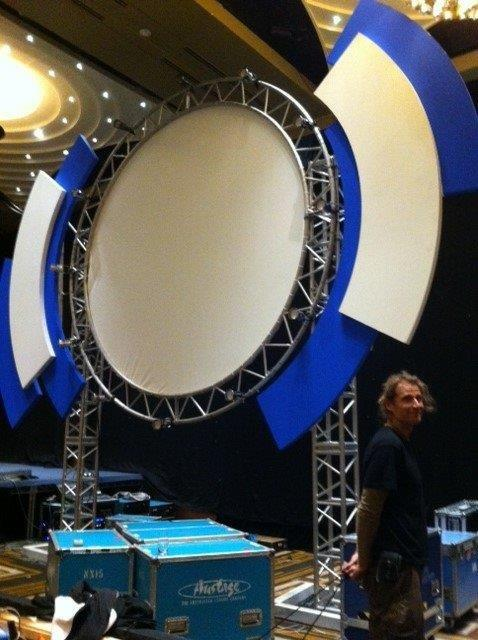 Circular Screens 1 - Prop For Hire