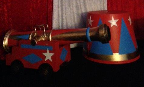 Circus Cannon - Prop For Hire