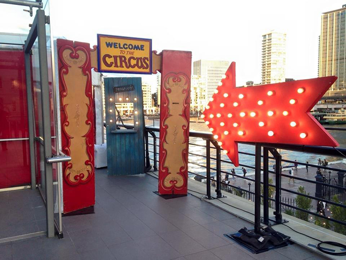 Circus Entrance 3 - Prop For Hire