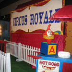 Circus Picket Scene - Prop For Hire