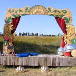 Circus Stage Entrance - Prop For Hire