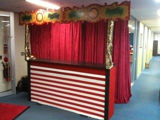 Circus Stall - Prop For Hire