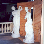 Classical Statues Scene - Prop For Hire