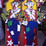 Clown Cutouts - Prop For Hire