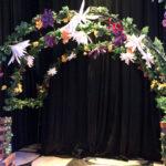 Coachella Flower Arch - Prop For Hire