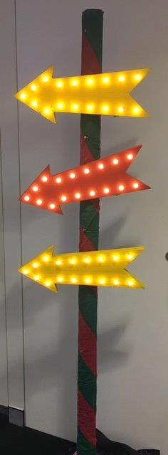 Colourful Arrows - Prop For Hire