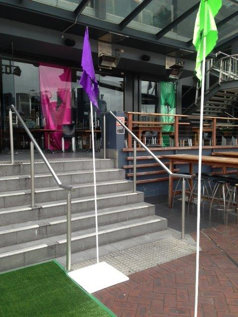 Colourful Flags - Prop For Hire