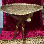 Copper Camel Table - Prop For Hire