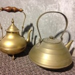 Copper Teapots - Prop For Hire