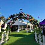 Country Flower Arch - Prop For Hire