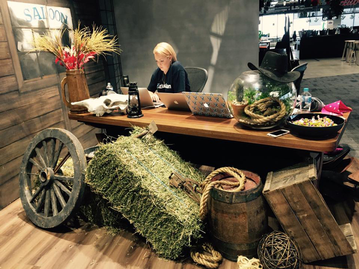 Country Produce Table - Prop For Hire