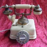 Cream Phone - Prop For Hire
