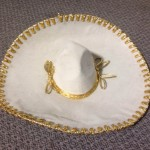 Cream Sombrero - Prop For Hire