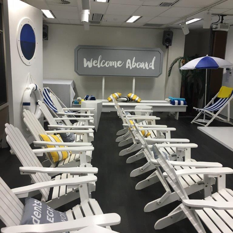 Cruise Deck Chairs - Prop For Hire