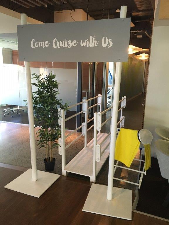 Cruise Entrance - Prop For Hire
