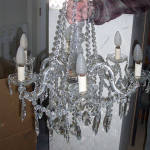 Crystal Chandelier - Prop For Hire