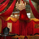 Crystal And Draping - Prop For Hire