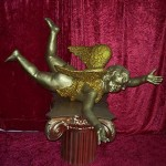Cupid On Pillar - Prop For Hire