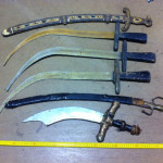 Curved Swords - Prop For Hire