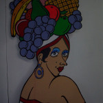 Cutout Carmen Miranda - Prop For Hire