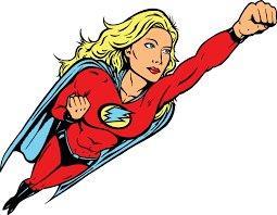 Super Woman Cutout - Prop For Hire