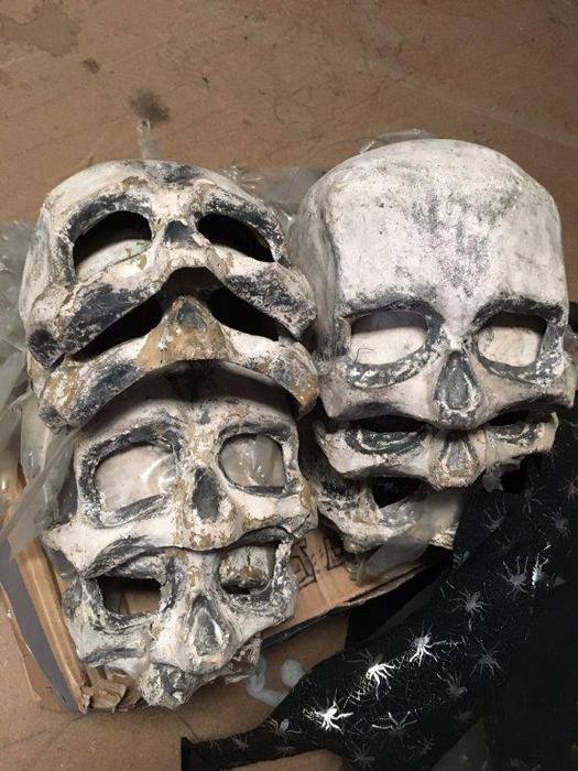 Death Masks - Prop For Hire