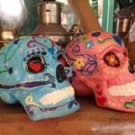 Decorated Skulls - Prop For Hire