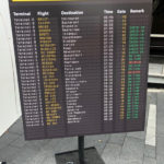 Departures Sign - Prop For Hire