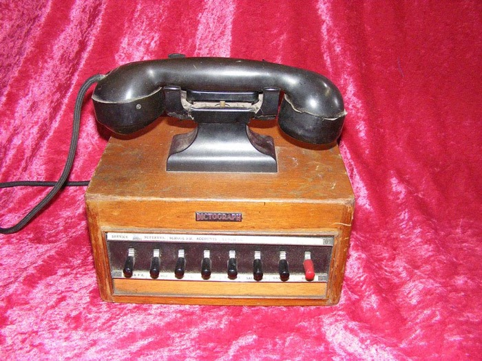 Dictograph Phone - Prop For Hire