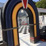 Retro Diner Entrance - Prop For Hire
