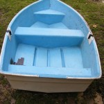 Dinghy Topview - Prop For Hire