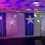 Disco Backdrop - Prop For Hire