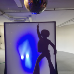 Disco Dancer Shadow Screen - Prop For Hire