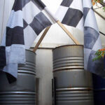 Drag Racing Drums Flags - Prop For Hire