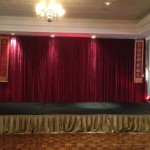 Draping Stage - Prop For Hire