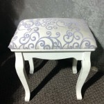 Dressing Table Stool - Prop For Hire