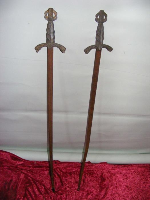 Elegant Swords - Prop For Hire