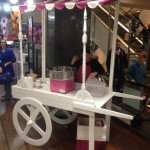Elegant White Event Cart - Prop For Hire