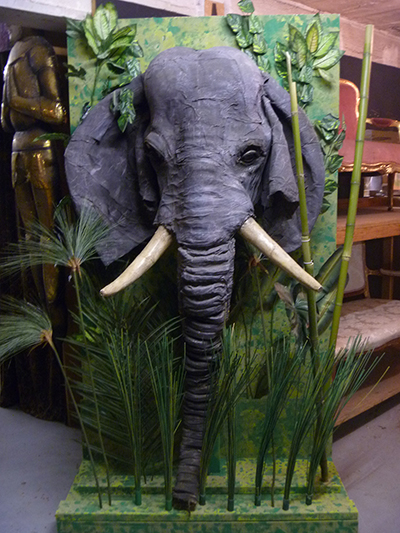 Elephant Head - Prop For Hire