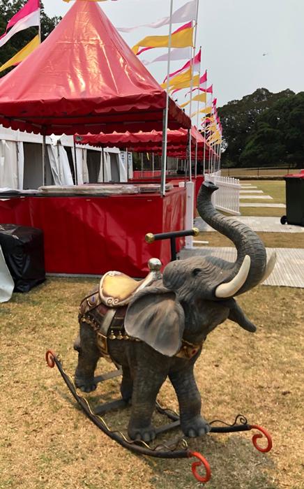 Elephant Rocker - Prop For Hire