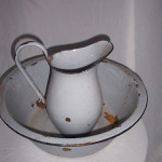 Enamel Basin Jug - Prop For Hire